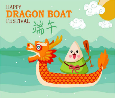 Holiday for Dragon Boat Festival  !! - 絵